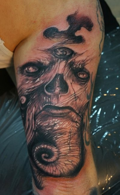 Freestyle Monster Tattoo By Graynd Tattooimages Biz