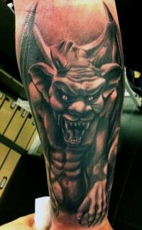 Gargoyle demon by jrunin